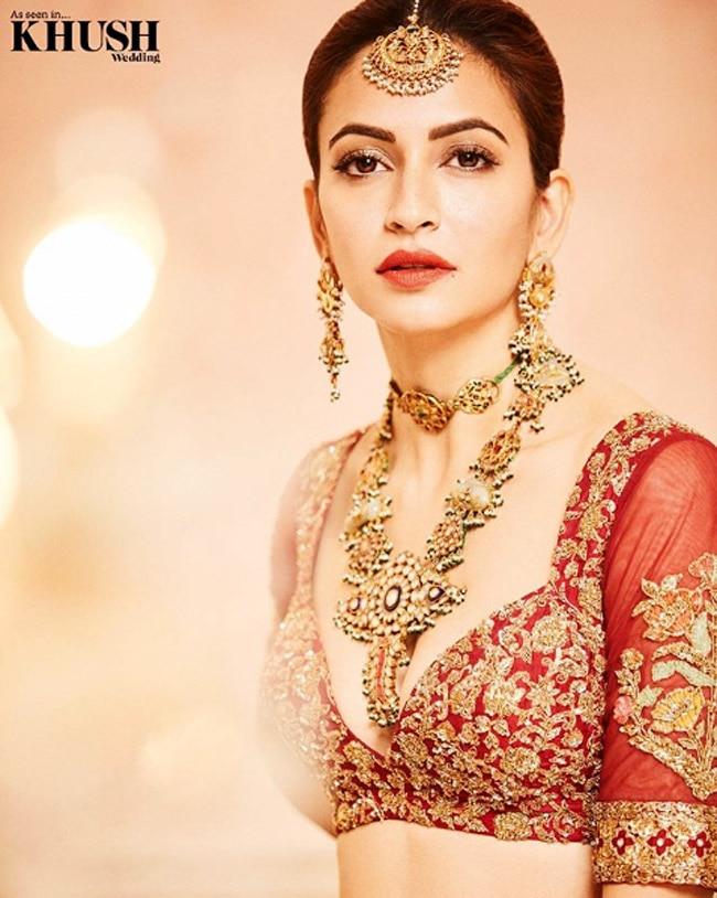 Kriti Kharband Shares Mesmerising Bridal Pictures