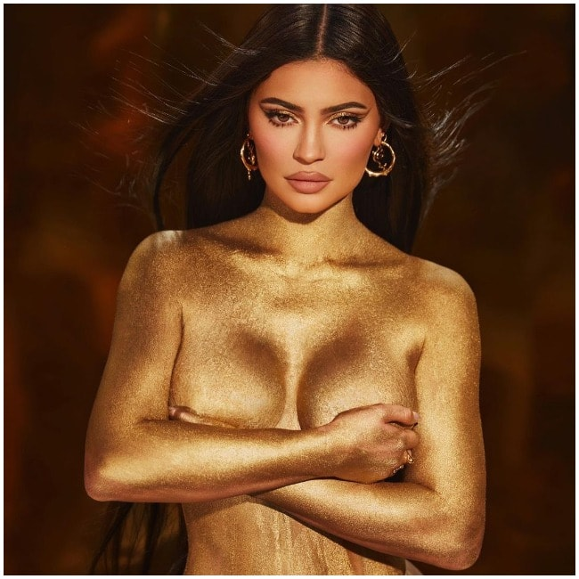Kylie Jenner celebrates her 24th birthday by posing nude for a photoshoot