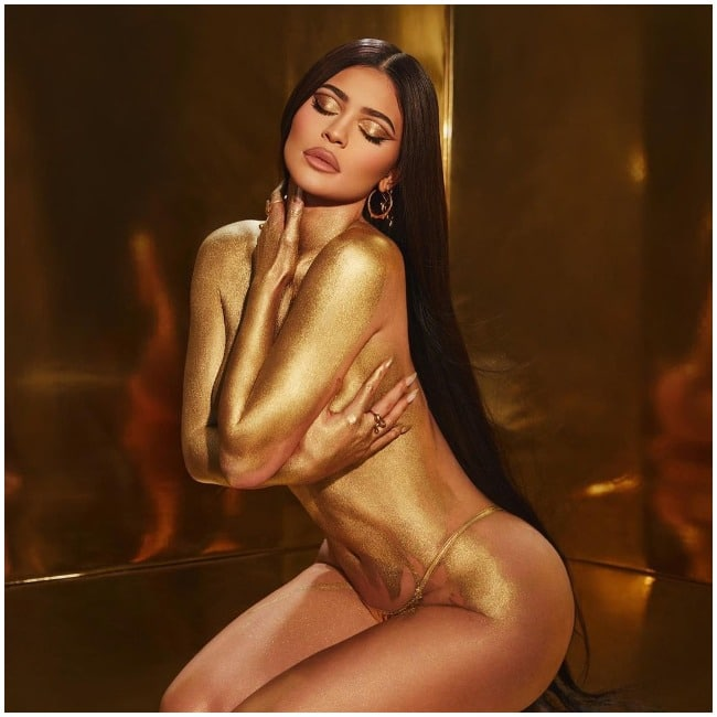 Kylie Jenner goes sultry beyond words in topless photoshoot