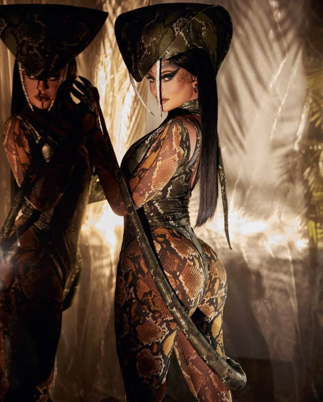 Kylie Jenner Goes Sultry in King Cobra Photoshoot