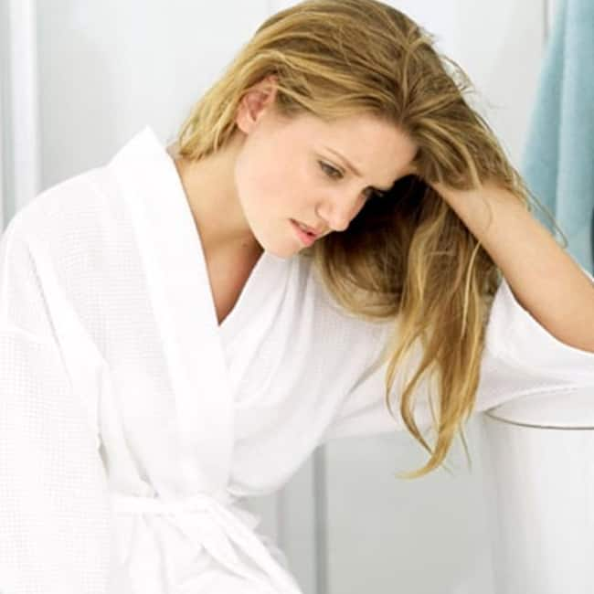 Lack of periods is a symptom of low estrogens in younger women