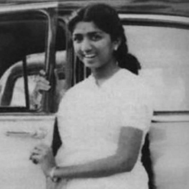Lata Mangeshkar   s teenage picture