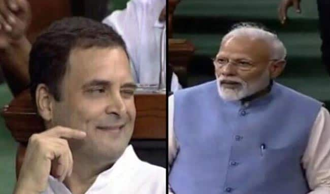 Learned Difference Between Gale Padna And Gale Lagna     PM Modi Taunts Rahul Gandhi in Last LS Speech