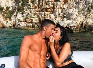 After WC Exit, CR7 Enjoys Downtime With Girlfriend Georgina Rodriguez In Greece