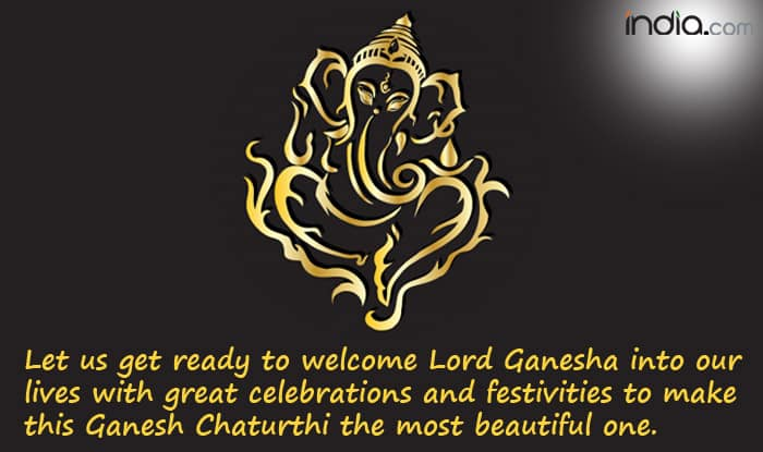 Let us get ready to welcome Lord Ganesha into our lives with great celebrations and festivities to make this Ganesh Chaturthi the most beautiful one