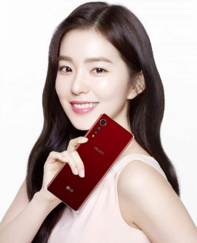 LG has published the official renders   specifications of LG Velvet