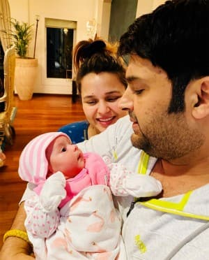 Unseen Photos: Kapil Sharma's 7-Weeks-Old Baby Anayra Sharma Sets Fans Hearts Melting
