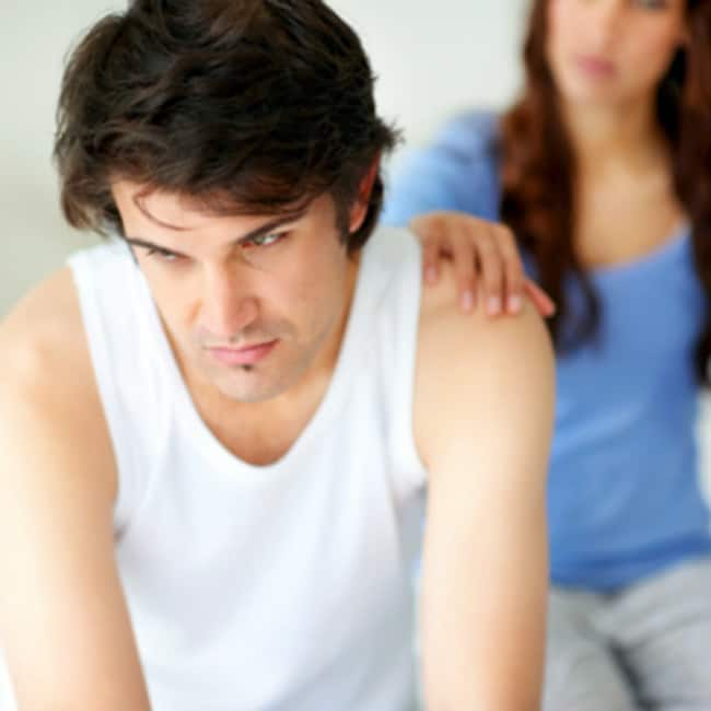 Hair loss causes male sexual dysfunction