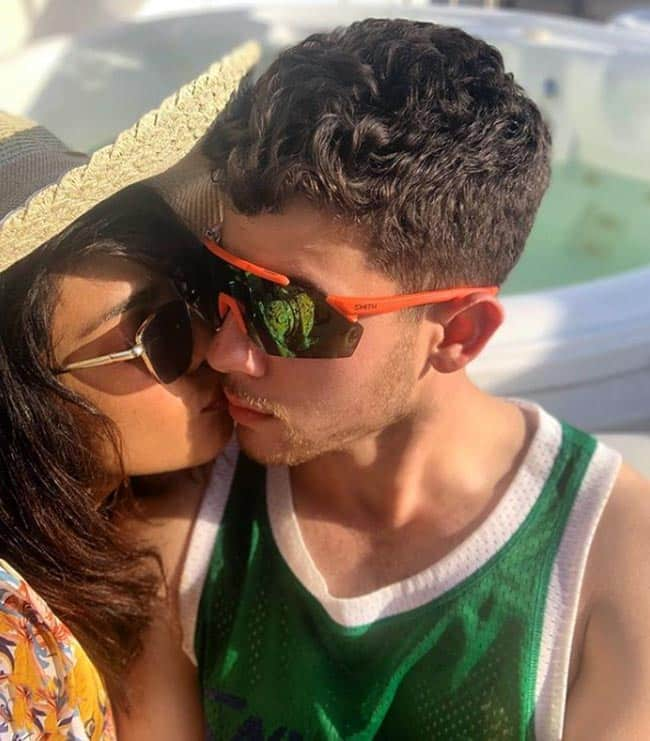 Love is in the air for PeeCee and Nick