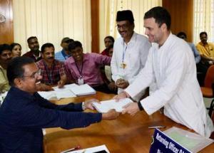 LS Polls: Rahul Gandhi, Accompanied by Priyanka, Files Nomination From Wayanad; Conducts Roadshow