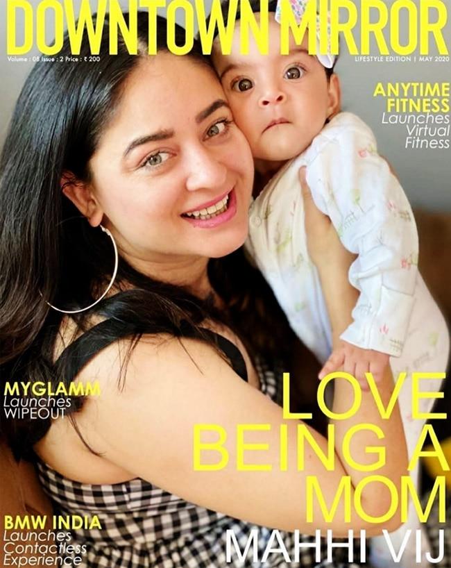 Mahhi Vij   s daughter Tara   s pictures are too cute to miss