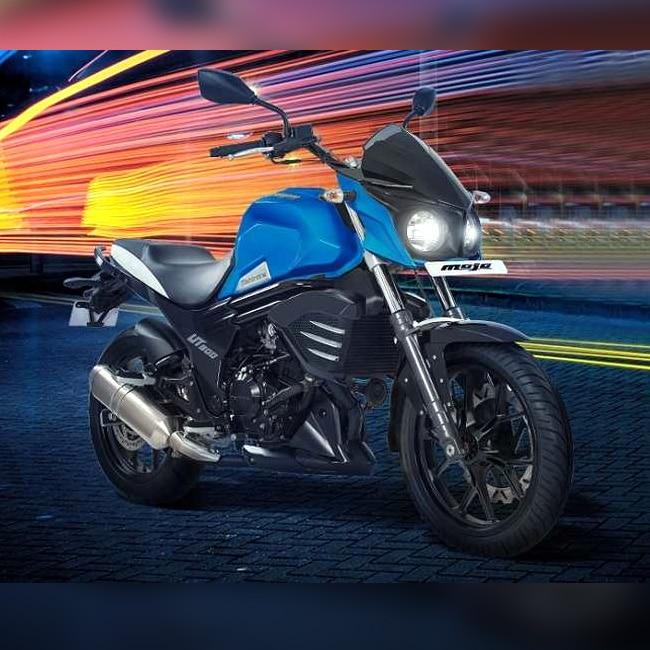 Mahindra Mojo UT 300 design