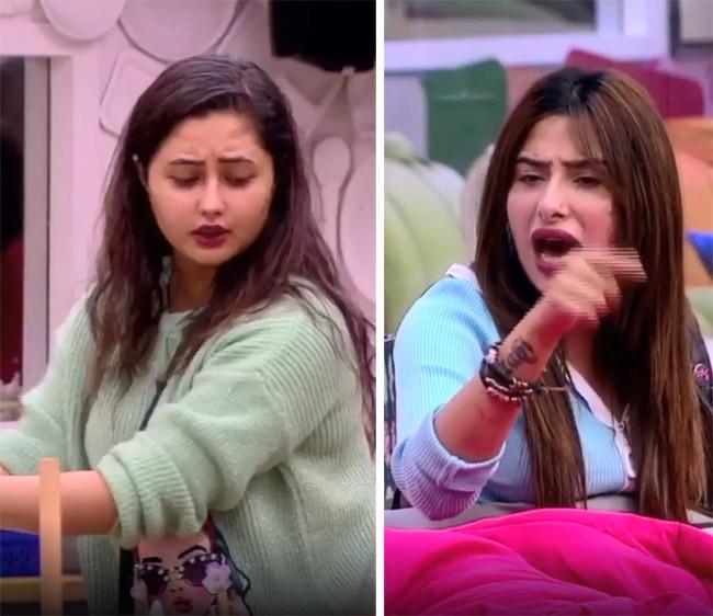 Mahira Sharma Denies to Cook Breakfast  Rashami Desai Takes The Charge