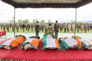 Handwara Encounter: Soldiers Martyred in Jammu And Kashmir Cremated Today
