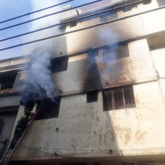 Major fire breaks out at garment factory in Ludhiana