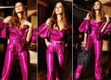 Malaika Arora Exudes Hotness in a Cleavage-Baring Metallic Purple Jumpsuit| View Pictures