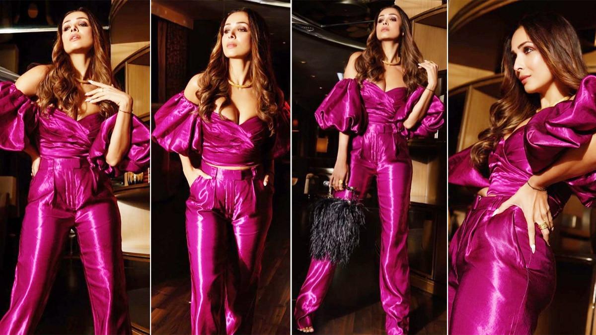 Malaika Arora is a Visual Delight in a Metallic Jumpsuit