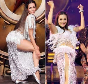 Malaika Arora Sizzles In A White Sequin Sultry Outfit, All Set To Burn The Dance Floor With Her Performance