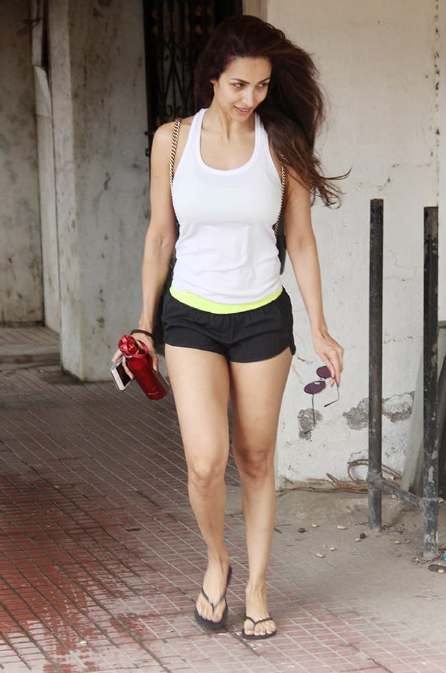 Malaika Arora Looks Sexy As She Is Spotted At The Gym-5064