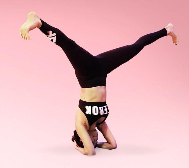 Malaika Arora Nails Ever Yoga Posture