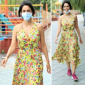 Mallika Sherawat Looks Pretty in a Floral Maxi as She Steps Out For a Walk Amid Coronavirus Scare