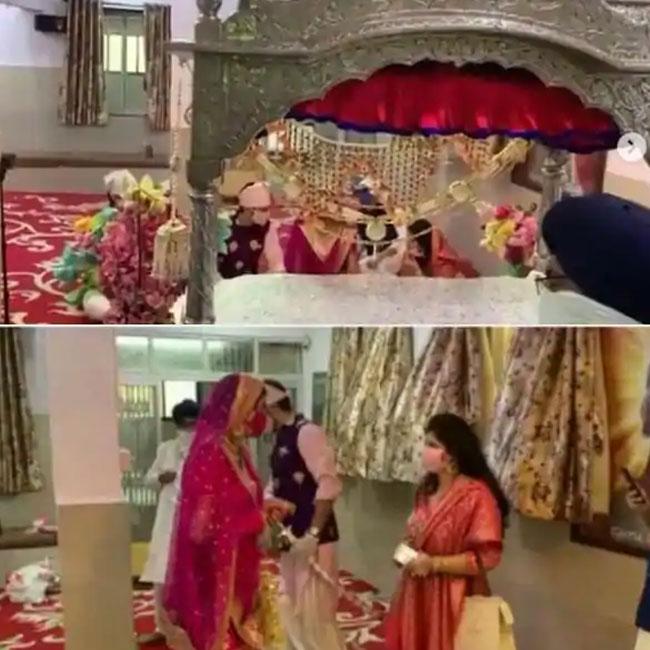 Manish Raisinghan Sangeita Chauhan Get Married Amid Coronavirus Lockdown