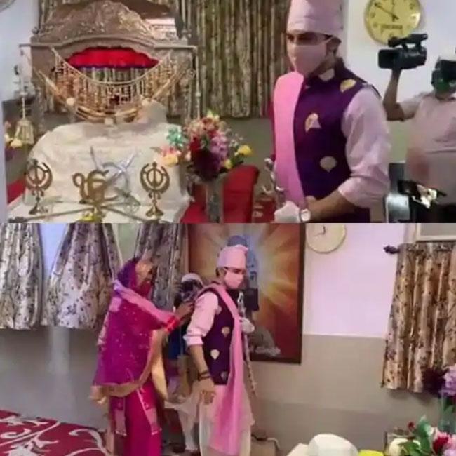 Manish Raisinghan Sangeita Chauhan Tie The Knot in Gurudwara