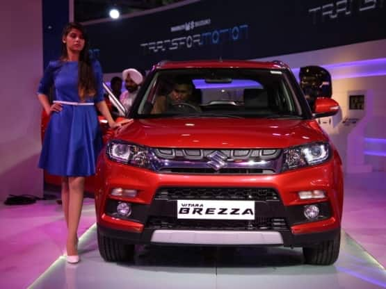 Maruti Suzuki India is all set to launch the much awaited Vitara Brezza in India by tomorrow  With the introduction of Vitara Brezza  Maruti Suzuki India has officially entered into the ever growing sub 4 metre compact SUV segment  The compact SUV was also showcased at Delhi Auto Expo 2016 last month