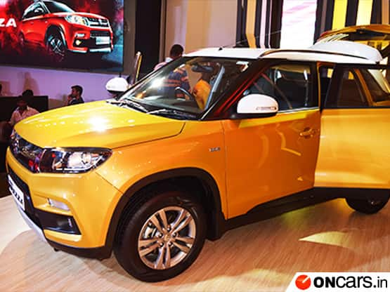 Maruti Suzuki India launched the highly awaited Vitara Brezza in the Indian market on March 21  2016  The compact SUV comes with a price tag of INR 6 99 lakh   INR 9 68 lakh  ex showroom Delhi
