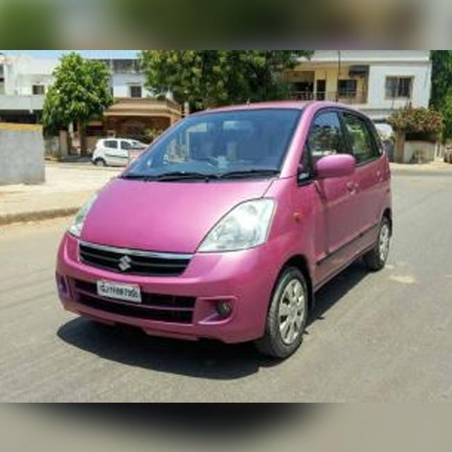 Maruti Suzuki Zen Estilo In Pink Color 5 Most Unattractive Cars