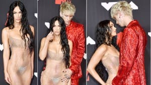 Megan Fox Wears Almost Nothing With a Sparkly Thong at Red Carpet of MTV VMAs 2021, Sets Hearts Racing   See Pics