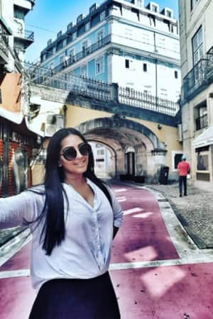 Bollywood actress Meghna Naidu gives a sneak-peek into jaw-dropping beauty of Portugal!
