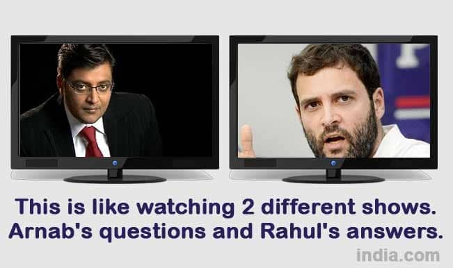 Memes from Rahul Gandhi s latest interview