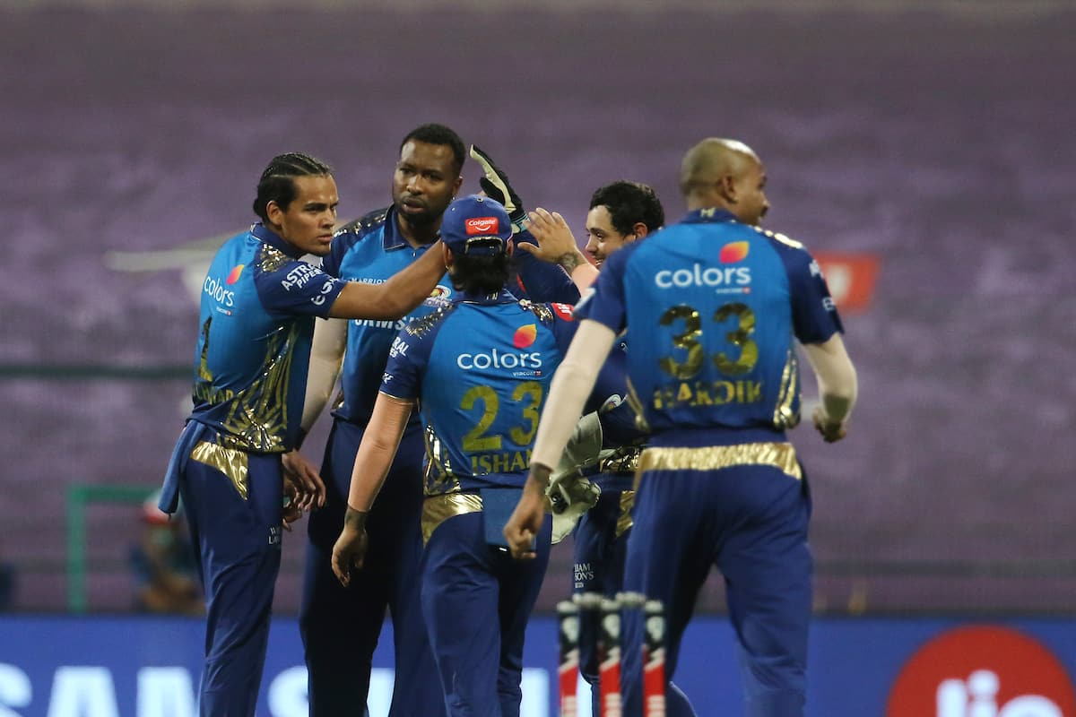 MI Beat RCB to Extend Lead