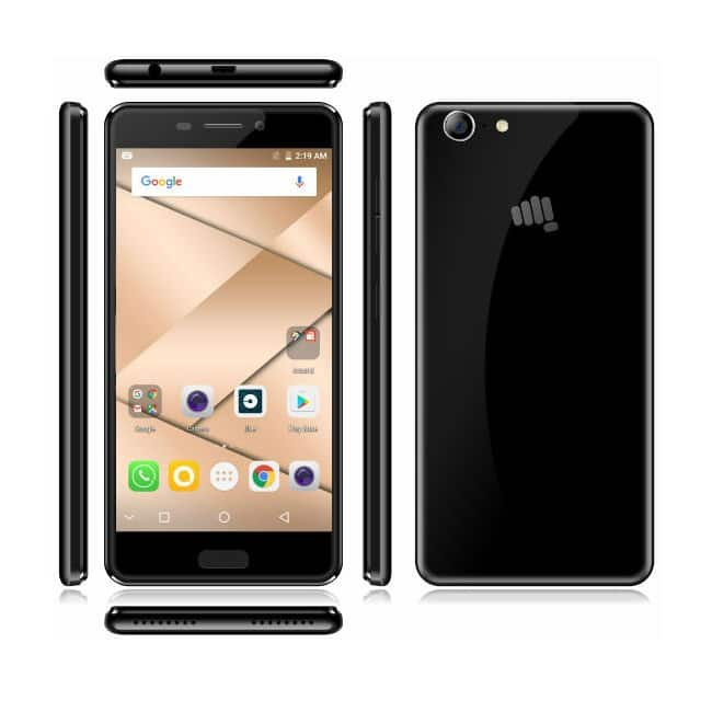 Micromax Canvas 2  2017  runs Android 7 0 Nougat out of the box