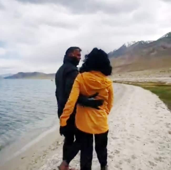 Milind Soman Ankita Konwar Latest Video is The Proof That They Are Head Over Heels in Love With Each Other