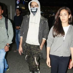 Jersey Star Shahid Kapoor Exits Airport Wearing Skull Mask For THIS Reason, Pictures go Viral
