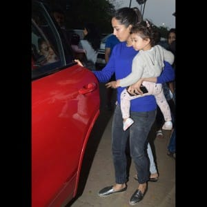 Cuteness Alert! Misha enjoys rides as mommy Mira Rajput pampers her with day out
