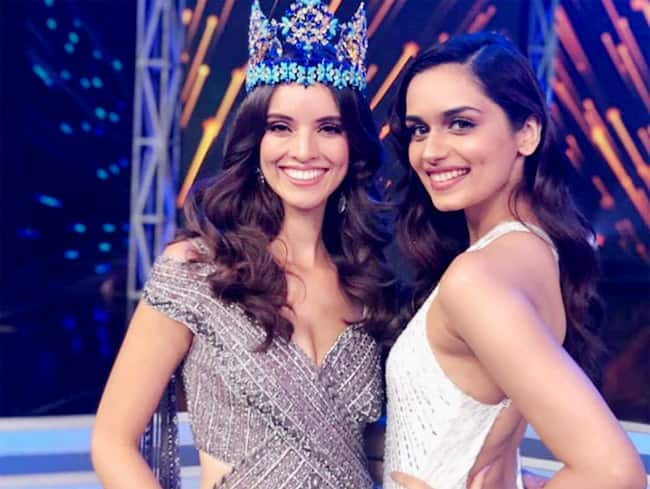 Miss World 2017 Manushi Chhillar Rocks Her Different Looks at Miss India 2019