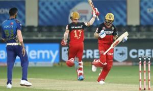 IPL 2020, RCB vs MI, Match 10 In Pictures: Bangalore Beat Mumbai in Super Over Thriller
