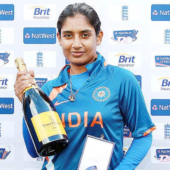 Mithali Raj is a trained classical dancer