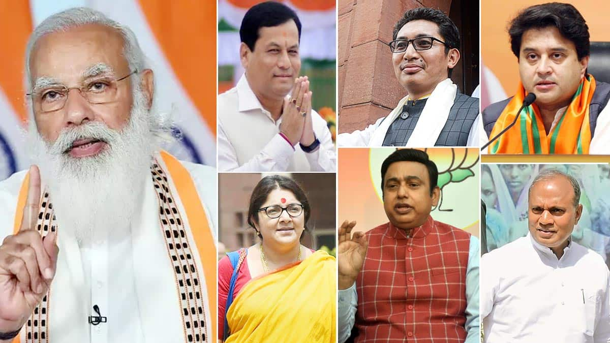 Modi Cabinet expansion  Scindia  Pashupati Parasa Among 20 New Faces to be Inducted