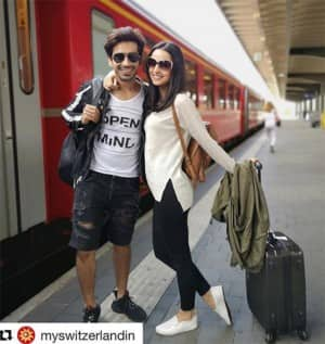 Mohit Sehgal and Sanaya Irani Slay in Switzerland Vacay