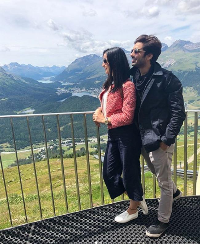 Mohit Sehgal and Sanaya Irani Slays in Switzerland Vacay