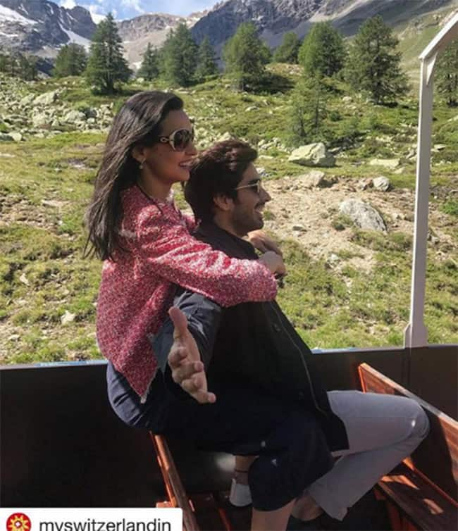 Mohit Sehgal and Sanaya Irani s Switzerland Pics Will Give You Couple Goals