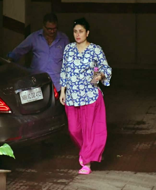 Mommy to be Kareena Kapoor Khan epitomises the trend
