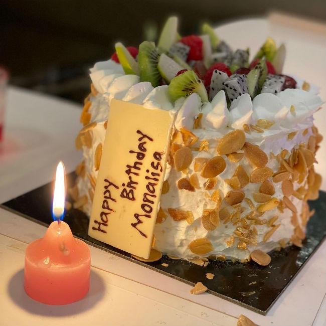 Monaisa and Vikrant celebrate her birthday in Mumbai