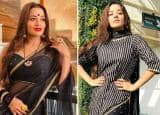 Monalisa Looks Hot And Sexy in Transparent Net Black Saree, Pics  Has Taken The Internet by Storm