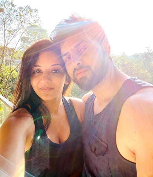 Monalisa is vacationing with her hubby Vikrant Singh Rajpoot in Lonavala