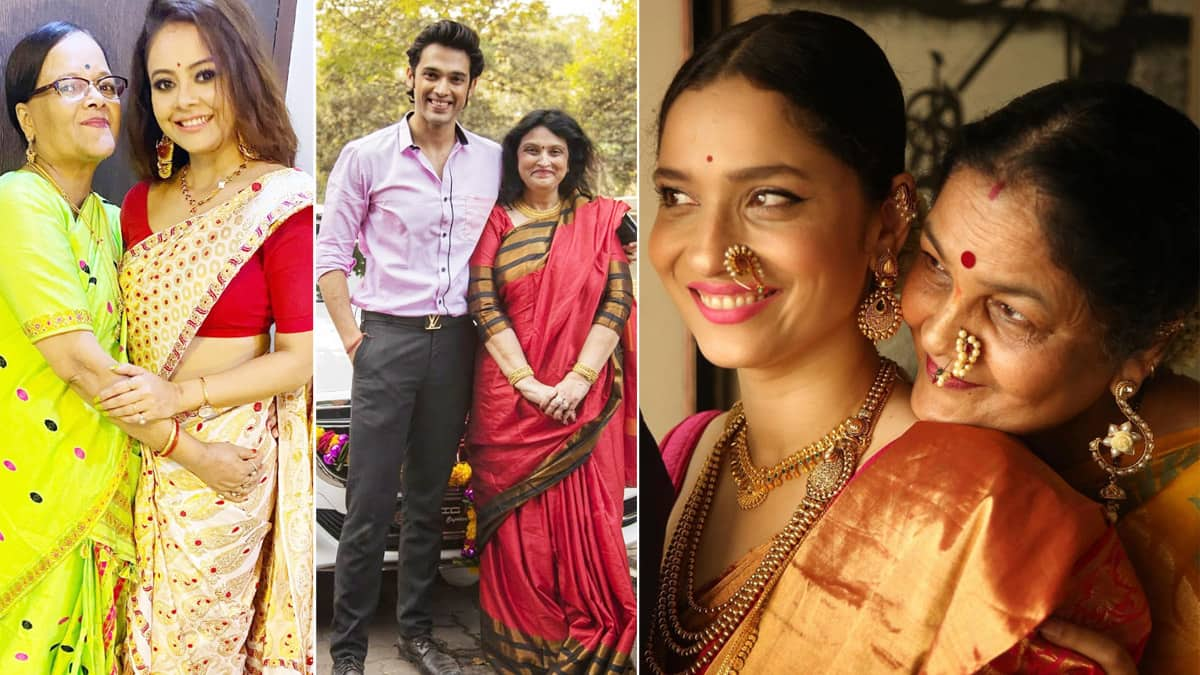 Mother   s Day  Parth Samthaan to Ankita Lokhande  TV Stars Share Adorable Pictures With Their Moms